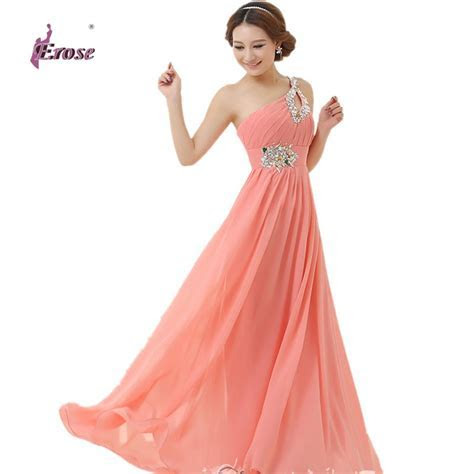 Floor length Chiffon Long Evening Dress Gown 2016 Long