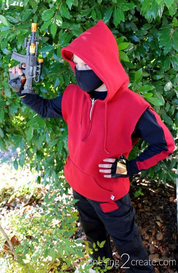 Fortnite Drift Costume DIY Tutorial - Jonesing2Create