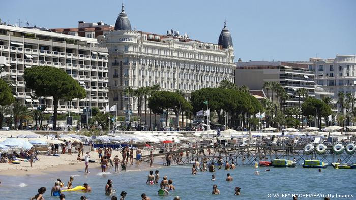 Der Stadtstrand von Cannes (Archivbild: AFP/Getty Images)