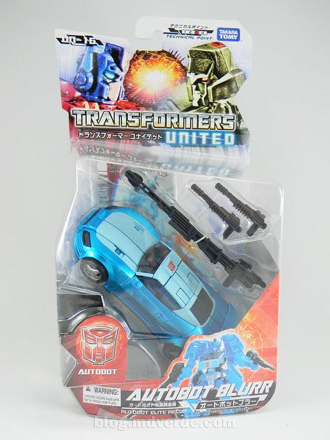 Transformers Blurr United Deluxe - modo