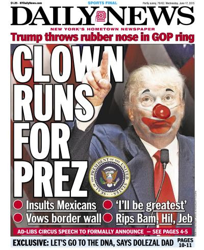 The New York Daily News's war on Trump, in 5 front pages - Vox
