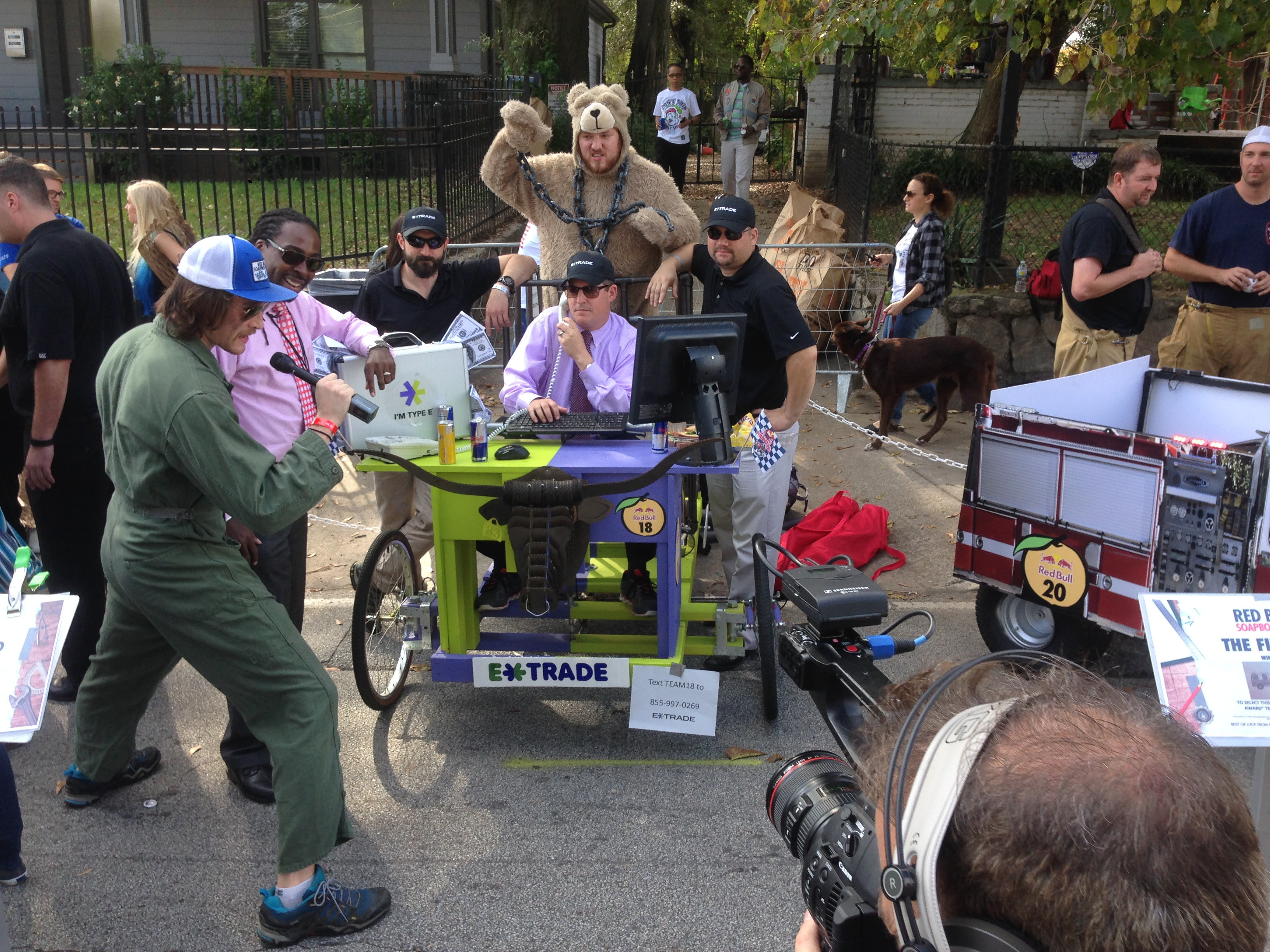 I went to the Red Bull Soapbox Race in Atlanta, and was not disappointed. These guys raced a trading desk.