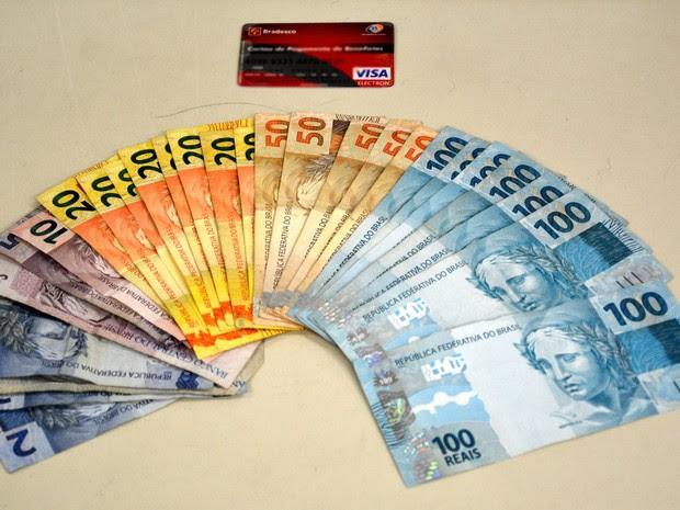 Homem havia sacado a quantia de R$ 1 mil (Foto: Divulgação/ Polícia Federal)