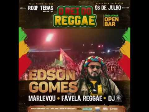 O Rei do Reggae Edson Gomes faz show em Recife no Roof Tebas.