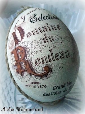 French text egg
