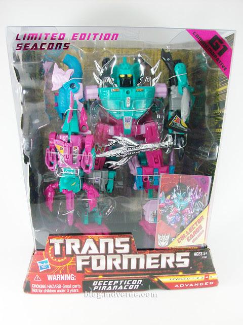 Transformers Seacons G1 Reissue - caja
