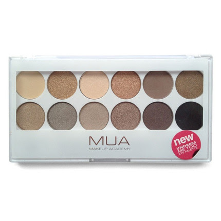 MUA Pro-Eye Palette Undress Me Too Paleta Cieni do Powiek