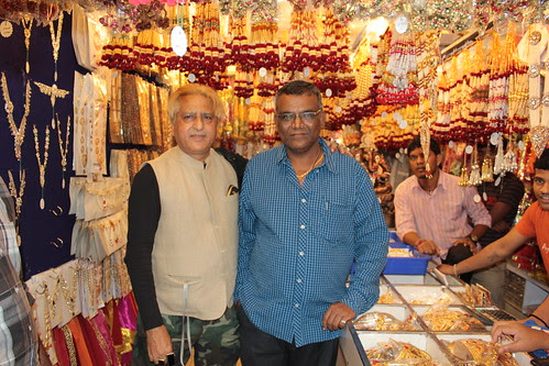 Sunil Joshi And Me At Lalbagh  2012 by firoze shakir photographerno1