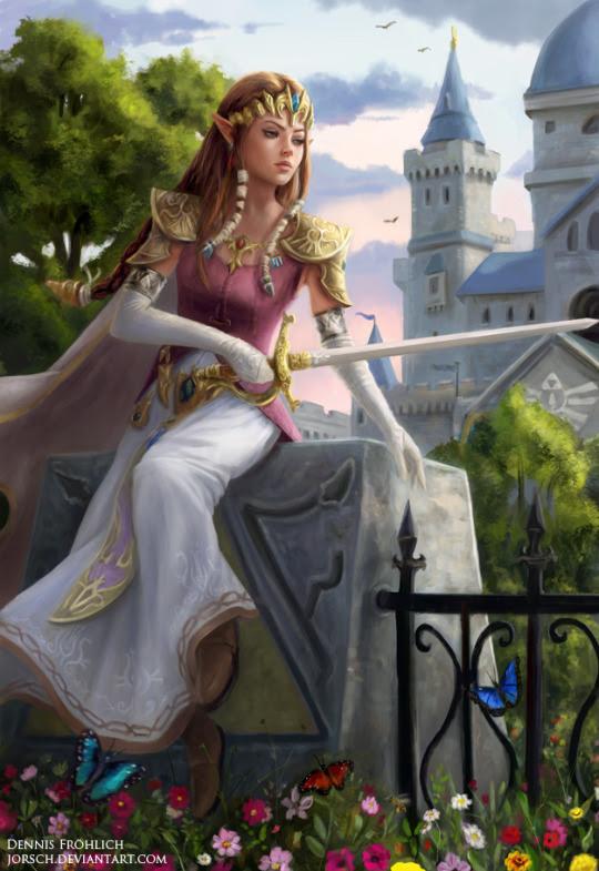 Princess Zelda byDennis Fröhlich