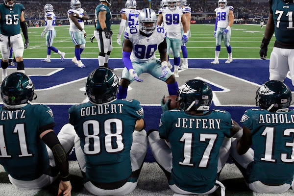 Image result for Eagles Cowboys AP Photo