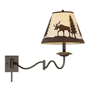Amazon.com: Vaxcel WL55612BBZ Yellowstone Indoor Wall Sconce with ...
