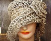 Crochet Hat Womens Hat, N...