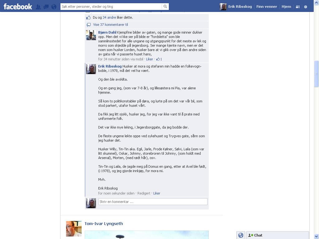 facebook larvik