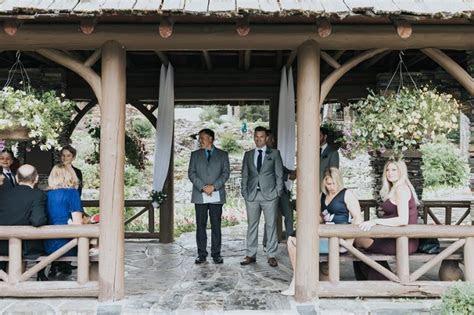 Cascade Gardens   Intimate Banff summer wedding in the
