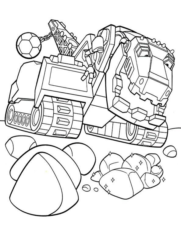 Dinotrux 3 Ausmalbilder Kostenlos
