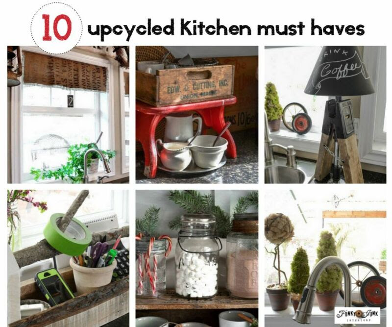 10 upcycled kitchen must haves you won't want to live ...