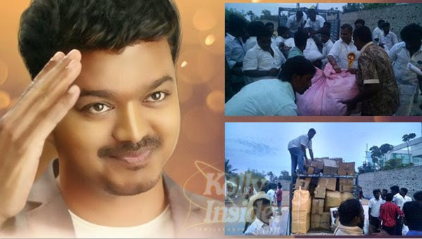Vijay's fans helped Nepal quake victims