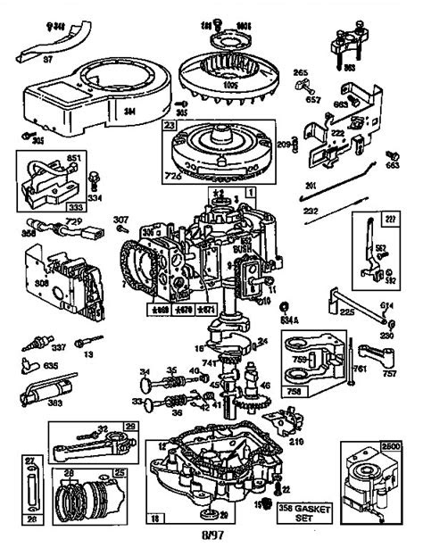 Briggs And Stratton Parts Diagram | Wiring Diagram And