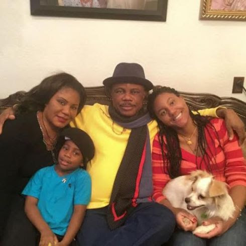 Photo of Anambra State governor Obiano with his lovely family chilling
