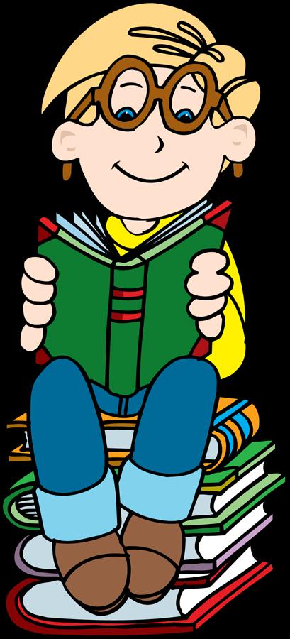 Child Reading Book Clip Art - ClipArt Best