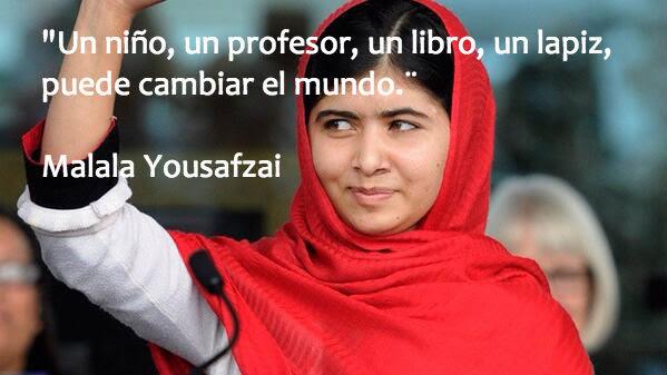 Infancia y Educación. Malala en español