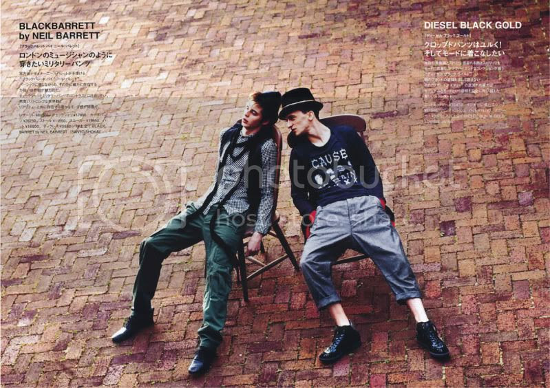 Fudge Men #22 May 2010 @ StreetStylista.Guy