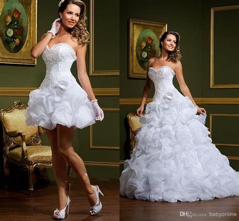 Sexy Vestido De Noiva White Ball Gown Wedding Dresses 2017