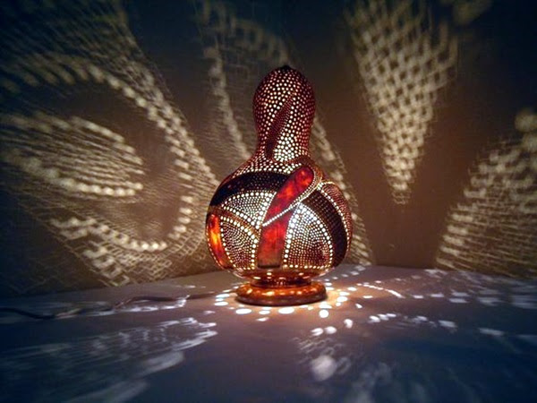 Amazing Art Inspired Gourd Lamps (40)