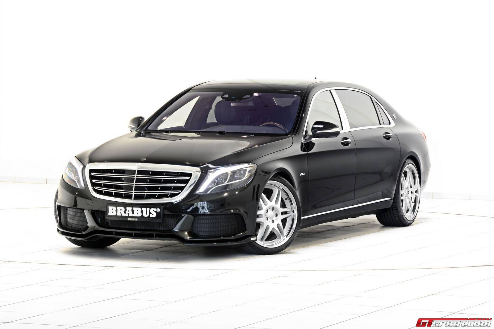 Official: 900hp MercedesMaybach S600 by Brabus  GTspirit