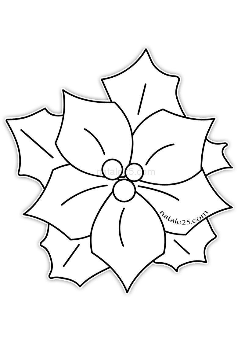 Disegno Stella Di Natale Da Colorare Natale 25