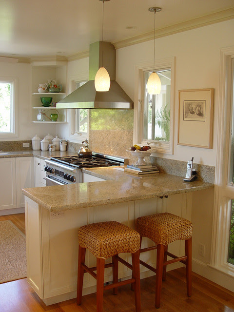 Small Kitchen Layouts With Breakfast Bar Dream House