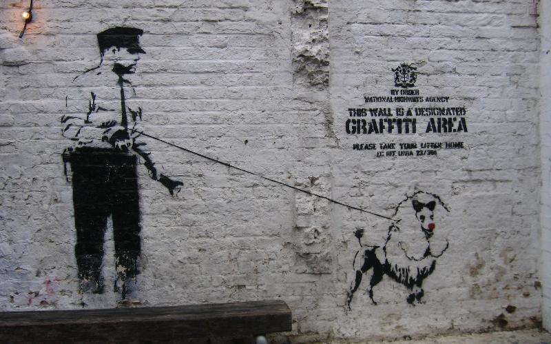 Designated Graffiti Area Photograph
