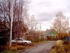 Old neighborhood in Elektrostal