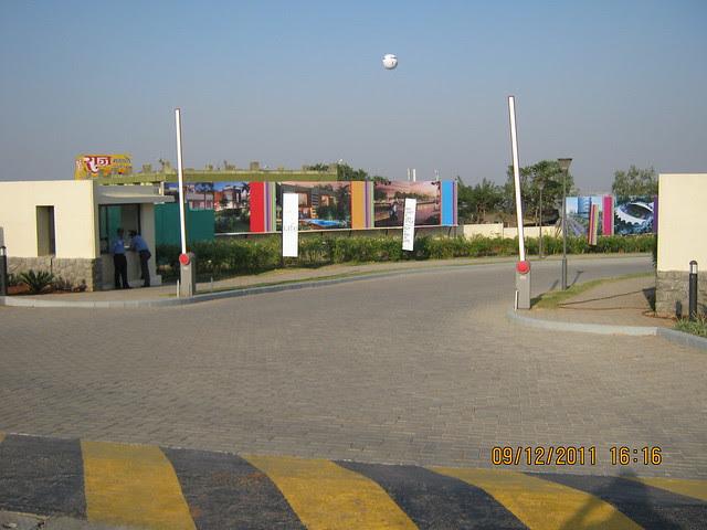 Entrance gate of Kolte-Patil Life Republic Hinjewadi
