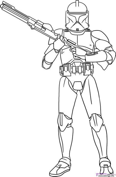 Coloriage star wars 2 Dessin à Imprimer | Coloriage star