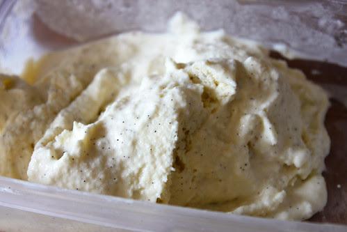 homemade vanilla ice