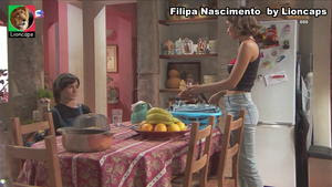 Filipa Nascimento sensual na novela Terra Brava
