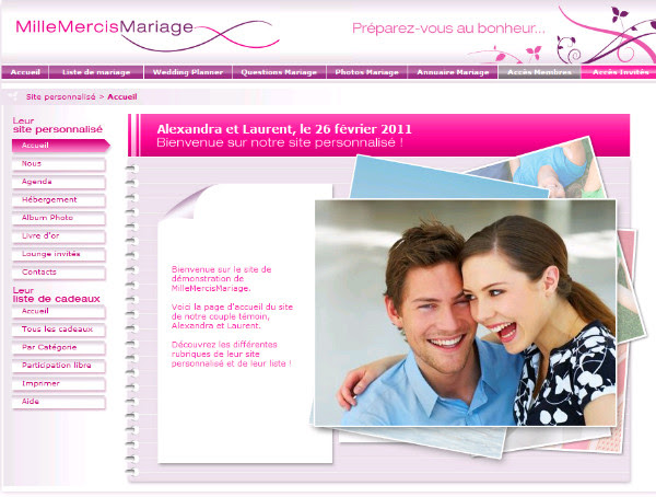 http://www.millemercismariage.com/millemercismariage.html