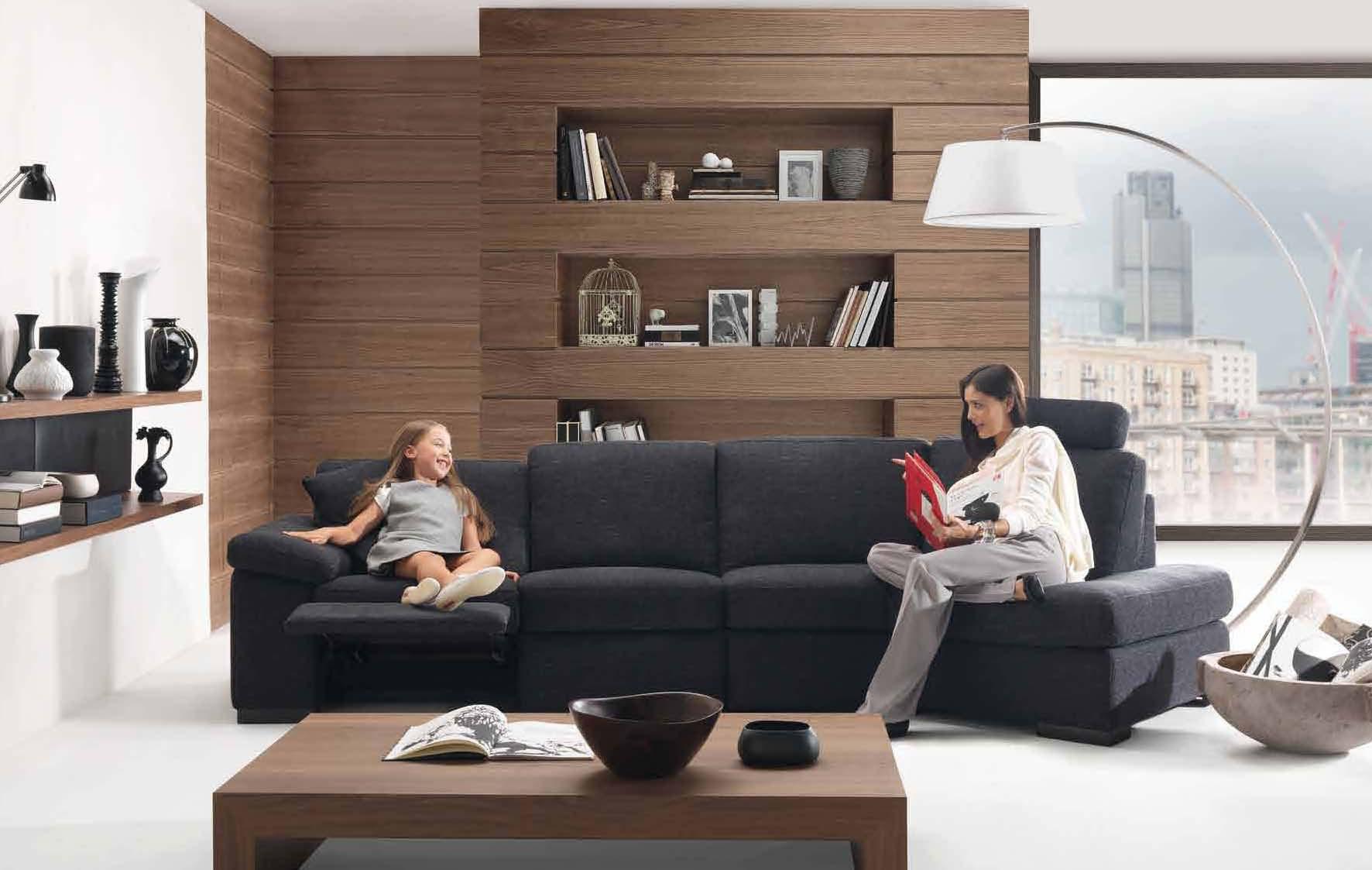 American-style apartment living room design renderings