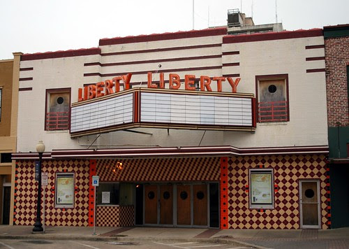 liberty theatre in early morning