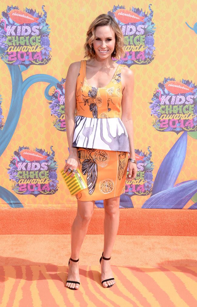 Keltie Colleen Kids Choice Awards mejor vestidas