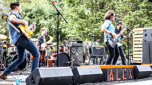 Alex Vincent Band, Concerts in the Park, Sacramento