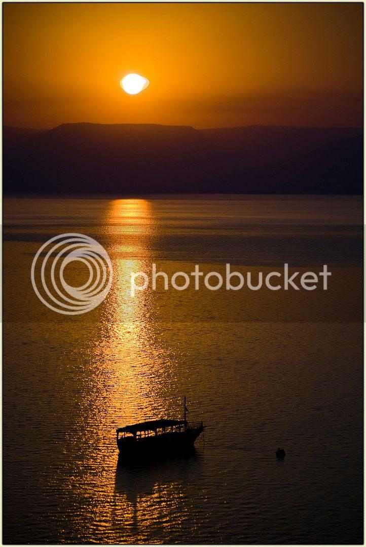 Yam Kinneret at Dawn