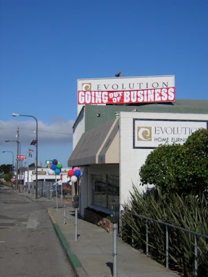 Evolution FURNITURE: Going out of business
