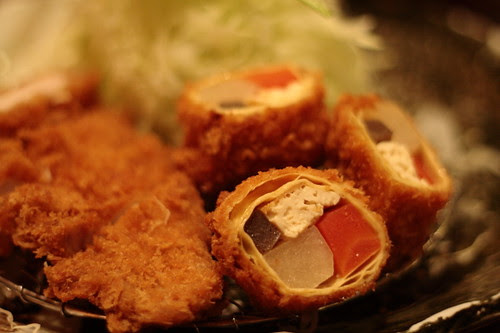 Fried Kyoto vegetables roll, Kyoto