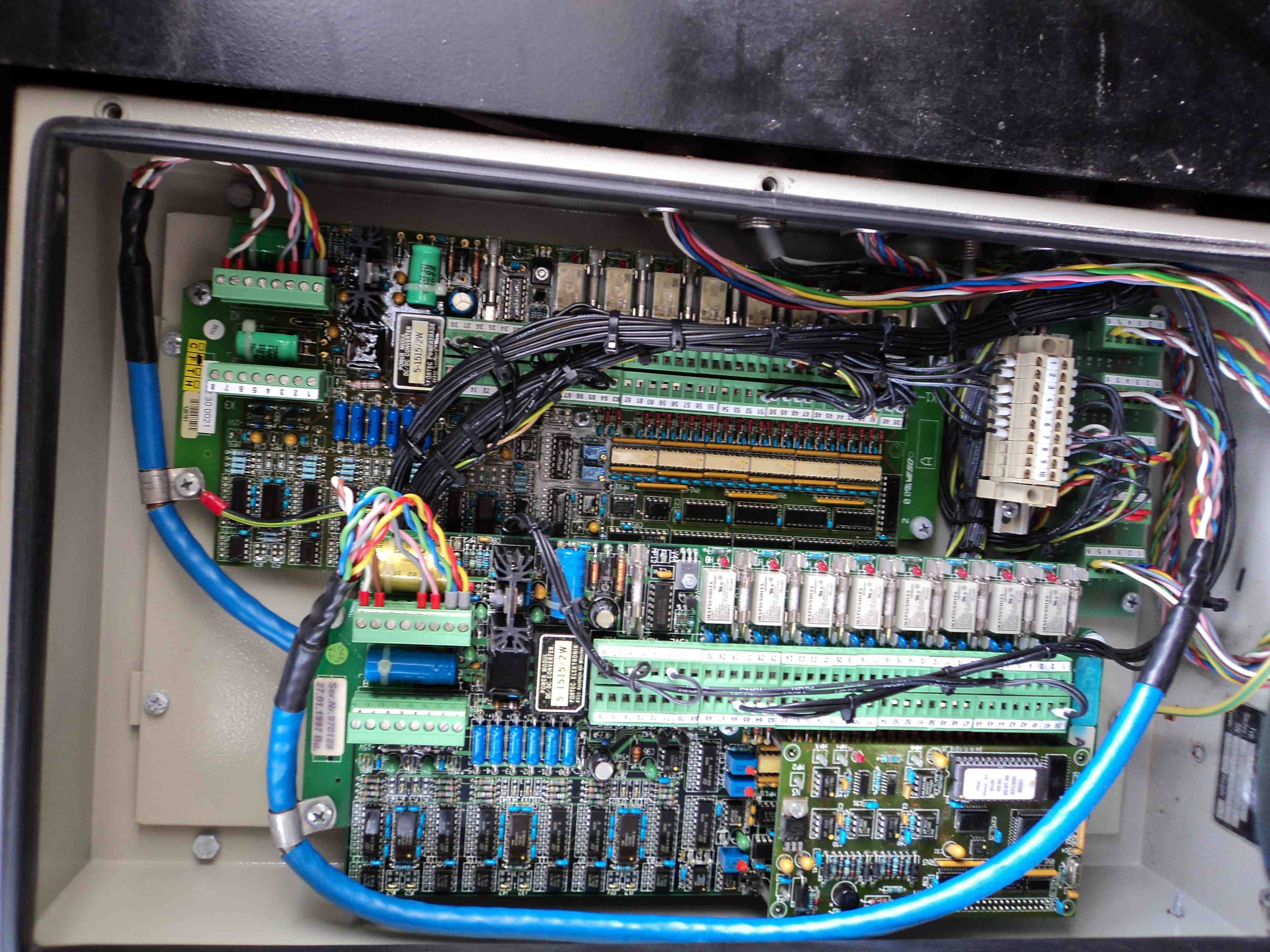 Demag AC665 PDC Multisensor Card Troubleshooting