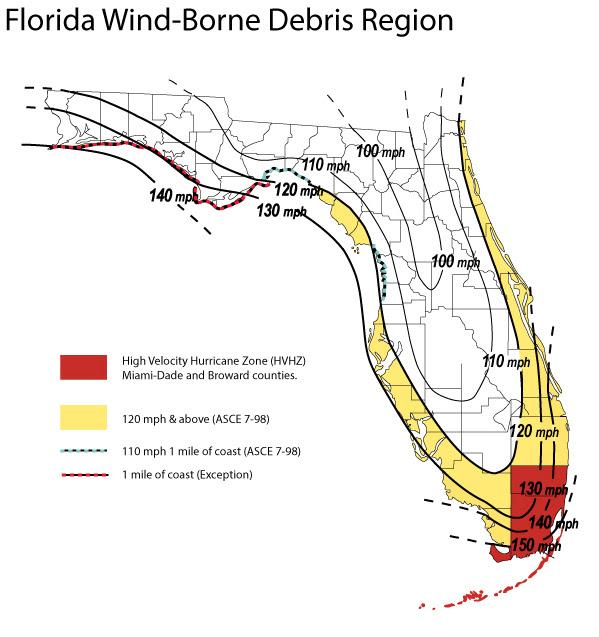 Hvhz Florida Map Map Of Us Western States