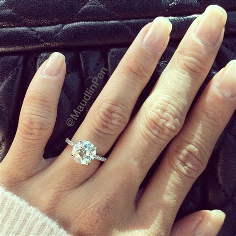 MY RING! *sigh* I had to post because I can't believe it's