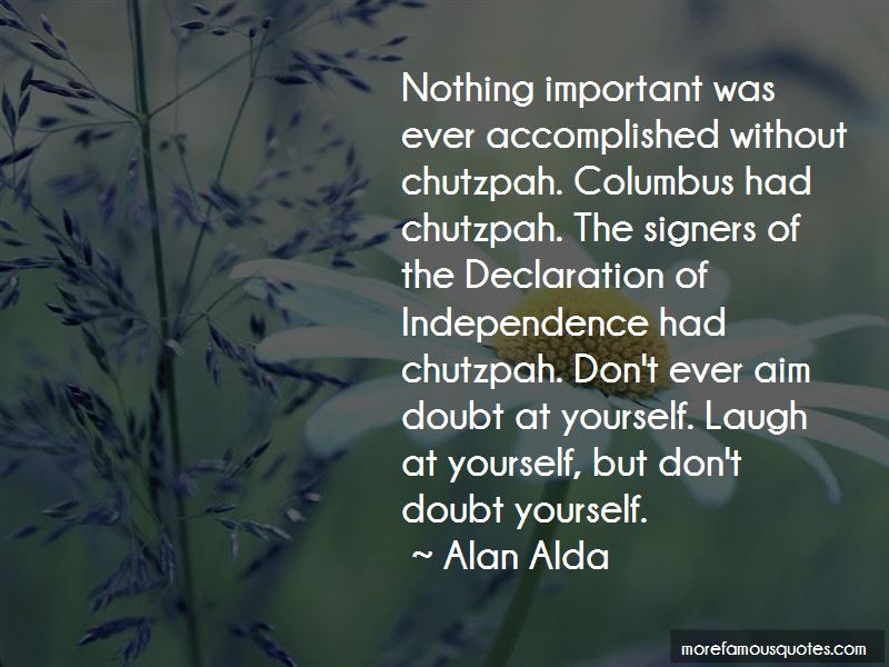 Dont Doubt Yourself Quotes Top 4 Quotes About Dont Doubt Yourself