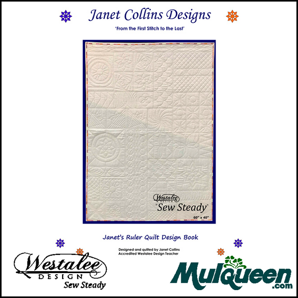 Janet Collins Ruler Quilt Design Book Mulqueen Sewing